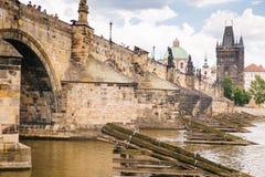 Praga, republika czech - 04 2016 Lipiec Fotografia Royalty Free