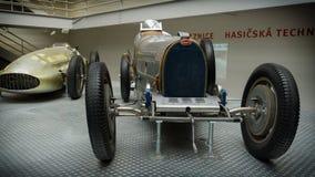 PRAGA, republika czech - MAJ 2017: PRAGA, republika czech SEPTEMBER-27: Bugatti 51,1931 rok w Krajowym technicznym muzeum w Praga Obrazy Stock