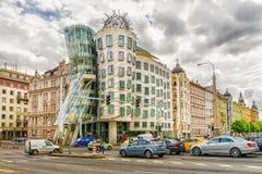 PRAGA, republika czech -21 MAY, 2016: Dancingowy dom był desi Obraz Stock