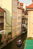 Praga ` s kanał Fotografia Royalty Free