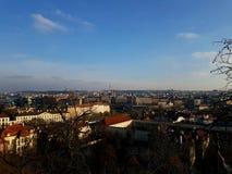 Praga solar Foto de archivo