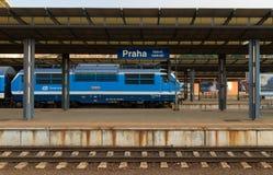 Praga stacja kolejowa Fotografia Stock