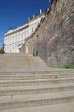Praga - Starzy Grodowi schodki Zdjęcie Royalty Free