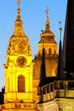 Praga - stile architettonico Immagini Stock Libere da Diritti