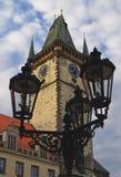 Praga storica Fotografie Stock Libere da Diritti