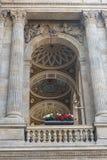 Praga teatru narodowego †'wyszczególniał widok dekoracja obrazy royalty free