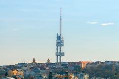 praga Torre di Zizkov Fotografia Stock Libera da Diritti
