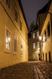 Praga ulica Fotografia Stock