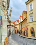 Praga variopinta Immagine Stock Libera da Diritti