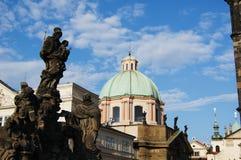 Praga, vecchia città Fotografia Stock