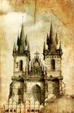 Praga velha fotos de stock royalty free