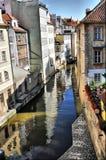 Praga vicino al ponticello del Charles Fotografia Stock