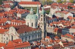 Praga. Vista menos Fotos de archivo libres de regalías