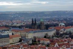 Praga Widok miasto fotografia stock