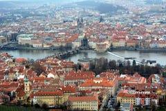 Praga Widok miasto obrazy royalty free