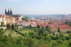 Praga Wiosna Beroun wzgórza cesky krumlov republiki czech miasta średniowieczny stary widok Obraz Stock