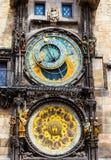 Praga zegar Fotografia Stock
