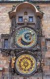 Praga zegar Zdjęcie Royalty Free