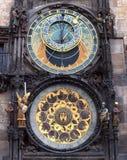 Praga zegarek zdjęcia stock