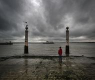 pragnienie lisbon Portugalia zdjęcie stock