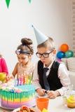Pragnienie na urodziny obrazy royalty free