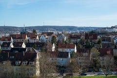 Pragsattel residential area in Stuttgart, Germany Stock Photography