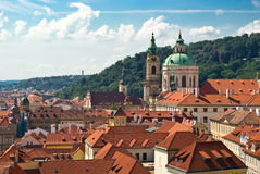 Prague. Cityscape of Prague old town Stock Image
