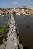Prague 12. Travel in the prague europe Stock Photography