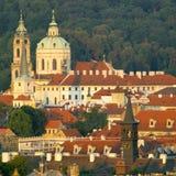 Prague. St. Nicholas church, Prague, Czech Republic Stock Images