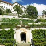Prague. Ledeburska Garden in Prague, Czech Republic Royalty Free Stock Images