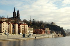 Prague. View of Prague from the river Vltava Royalty Free Stock Images