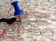 Prague. The way we looked at Prague in 1949 Stock Image
