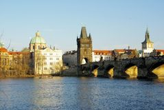 Prague. Beautiful capital of Czech, Prague Royalty Free Stock Image