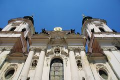 St. Nicholas Church Prague Royalty Free Stock Photos