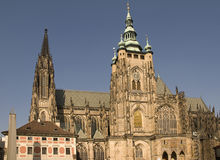 Prague. Is the capital and largest city of the Czech Republic Royalty Free Stock Images