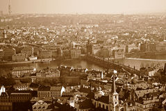 Prague. Is the capital and largest city of the Czech Republic Royalty Free Stock Photo