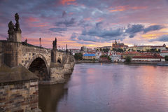 Prague. Images libres de droits
