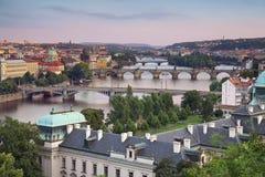 Prague. Arkivbild