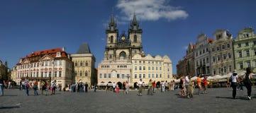Prague #4. Panoramic picture of Prague, Czech Republic Stock Photos