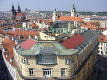 Prague. Beautiful view of Prague and its buildings stock photo