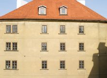 Prague Abstract. Abstract building detail in Prague, Czech Republic Royalty Free Stock Images