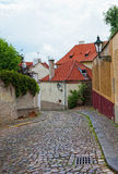Prague, ancient narrow streets Royalty Free Stock Images