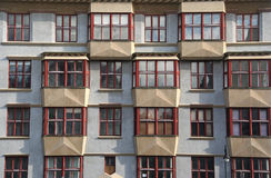 Prague Apartments Royalty Free Stock Photography