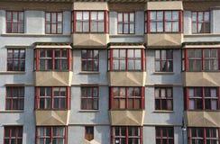 Prague Apartments Royalty Free Stock Photography