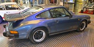 PRAGUE - APRIL 14: Porsche Carrera G model Coupe (1984) Royalty Free Stock Photography