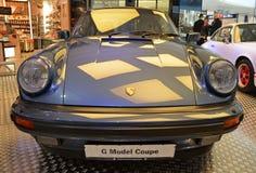 PRAGUE - APRIL 14: Porsche Carrera G-modell Coupe (1984) Arkivfoto