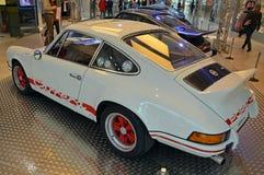 PRAGUE - APRIL 14: Porsche Carrera RS (1973) Royaltyfria Bilder