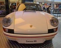 PRAGUE - APRIL 14: Porsche Carrera RS (1973) Arkivbild