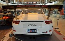 PRAGUE - APRIL 14: Porsche 911 991 GT3 Arkivfoto