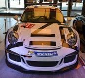 PRAGUE - APRIL 14: Porsche 911 991 GT3 Royaltyfri Bild